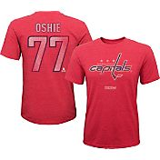 CCM Youth Washington Capitals T.J. Oshie #77 Vintage Replica Home Player T-Shirt