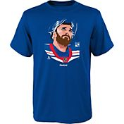 Reebok Youth New York Rangers Henrik Lundqvist #30 Portrait Royal T-Shirt
