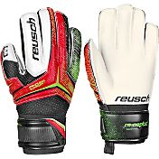 Reusch Junior Receptor RG Finger Support Soccer Goalie Gloves