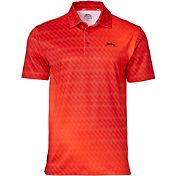 Slazenger Men's Ashen Gradient Tech Golf Polo