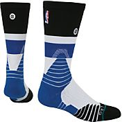 Stance NBA Crew Cap Blue Socks