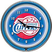 Trademark Games Los Angeles Clippers 14'' Neon Clock