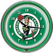 Trademark Games Boston Celtics 14'' Neon Clock
