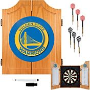Trademark Games Golden State Warriors Dart Cabinet