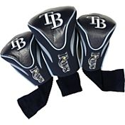 Team Golf Tampa Bay Rays Contoured Headcovers - 3-Pack