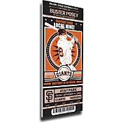 That's My Ticket San Francisco Giants Buster Posey Debut Game Mega Ticket