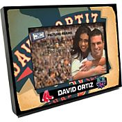 Boston Red Sox David Ortiz Final Season Wooden Picture Frame