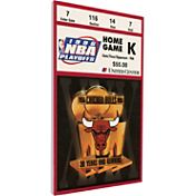 That's My Ticket Chicago Bulls 1996 NBA Finals Game 5 Canvas Ticket