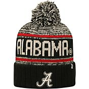Top of the World Men's Alabama Crimson Tide Black/White/Crimson Acid Rain Knit Beanie