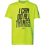 Under Armour Boys' SC30 Can Do All Things Graphic Basketball T-Shirt