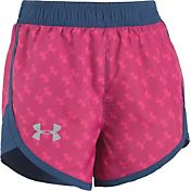 Under Armour Little Girls' Logo Toss Fast Lane Shorts