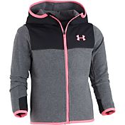 Under Armour Little Girls' Hundo Full-Zip Jacket