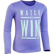 Under Armour Little Girls' Watch Me Win Long Sleeve Shirt