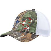Under Armour Men's Fish Hook Camo Hat