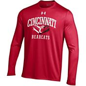 Under Armour Men's Cincinnati Bearcats Red UA Tech Long Sleeve Shirt