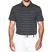 Under Armour Men's Tech Stripe Golf Polo