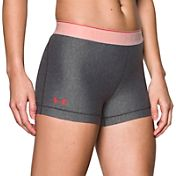 Under Armour Women's HeatGear Embossed 3'' Compression Shorts