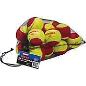 Tourna Low Compression Stage 3 Tennis Ball - 18 Pack Mesh Bag