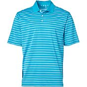 Walter Hagen Men's Essentials Fine Line Stripe Golf Polo