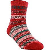 Yaktrax Youth Cozy Cabin Nordic Crew Socks