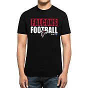 '47 Men's Atlanta Falcons Club Black T-Shirt
