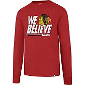 '47 Men's 2017 NHL Stanley Cup Playoffs Chicago Blackhawks Red Long Sleeve T-Shirt