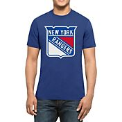 '47 Men's New York Rangers Logo Royal T-Shirt
