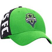 adidas Men's Seattle Sounders Green/Blue Structured Flex Hat