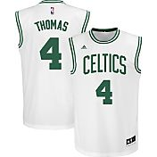 adidas Youth Boston Celtics Isaiah Thomas #4 Home White Replica Jersey