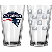 Boelter Super Bowl LI Champions New England Patriots 16oz. Pint