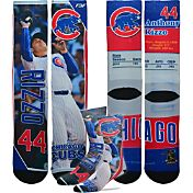 For Bare Feet Chicago Cubs Anthony Rizzo Trading Card Socks