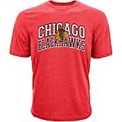 Levelwear Men's Chicago Blackhawks Performance Arch Red T-Shirt