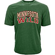 Levelwear Men's Minnesota Wild Performance Arch Green T-Shirt