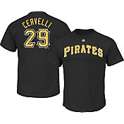 Majestic Youth Pittsburgh Pirates Francisco Cervelli #29 Black T-Shirt