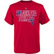 Majestic Youth Philadelphia Phillies Spark Red T-Shirt