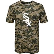 Majestic Youth Chicago White Sox Cool Base Digi Camo Performance T-Shirt