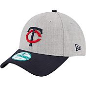 New Era Men's Minnesota Twins 9Forty Grey Adjustable Hat