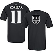 Reebok Men's Los Angeles Kings Anze Kopitar #11 Player Black T-Shirt
