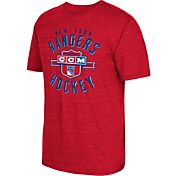 CCM Men's New York Rangers Tri-Blend Red T-Shirt